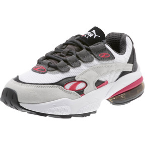 Thumbnail 1 of CELL Venom Women's Sneakers, Puma White-Fuchsia Purple, medium