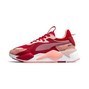 Thumbnail 1 of RS-X Toys Women's Sneakers, Bright Peach-High Risk Red, medium