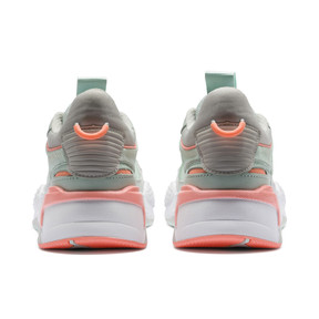 Thumbnail 3 of RS-X Tracks Women's Sneakers, Fair Aqua-Glacier Gray, medium