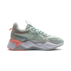 Thumbnail 5 of RS-X Tracks Women's Sneakers, Fair Aqua-Glacier Gray, medium