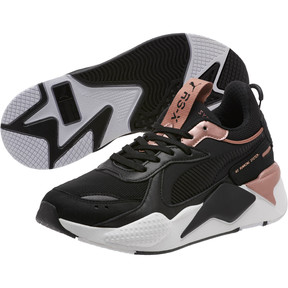 Thumbnail 2 of RS-X Trophy Women's Sneakers, Puma Black-Rose Gold, medium