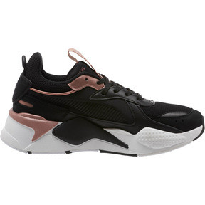 Thumbnail 3 of RS-X Trophy Women's Sneakers, Puma Black-Rose Gold, medium