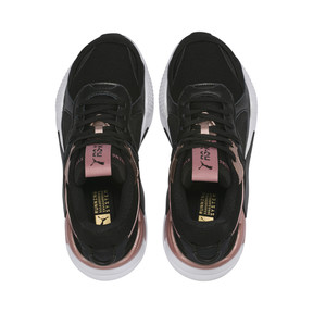 Thumbnail 6 of RS-X Trophy Women's Sneakers, Puma Black-Rose Gold, medium