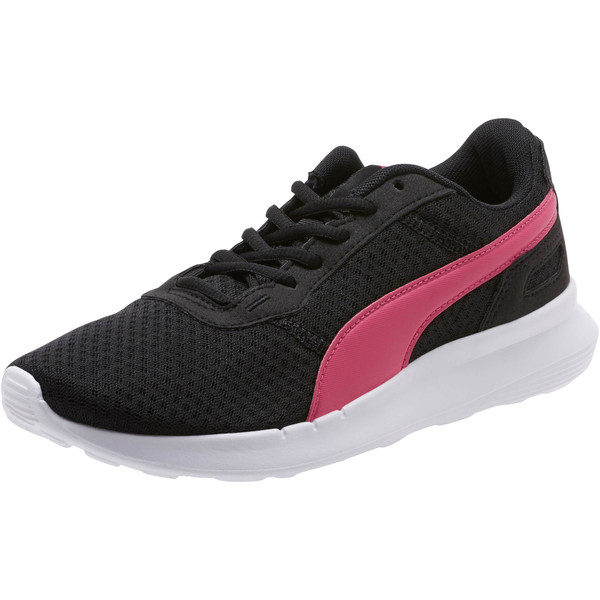 ST Activate Women's Sneakers, Puma Black-Fuchsia Purple, large