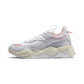 Thumbnail 1 of RS-X Tech Women's Sneakers, Puma White-Peach Bud, medium