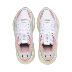 Thumbnail 6 of RS-X Tech Women's Sneakers, Puma White-Peach Bud, medium
