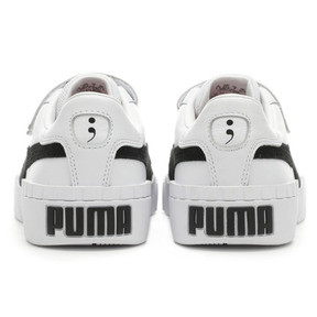 Thumbnail 4 of PUMA x SELENA GOMEZ Cali Women's Trainers, Puma White-Puma Black, medium