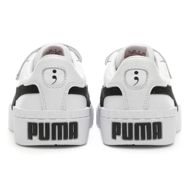 PUMA x SELENA GOMEZ Cali Women's Trainers, Puma White-Puma Black, large