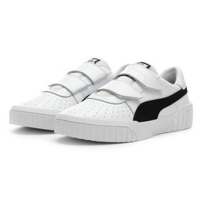 Thumbnail 3 of PUMA x SELENA GOMEZ Cali Women's Trainers, Puma White-Puma Black, medium