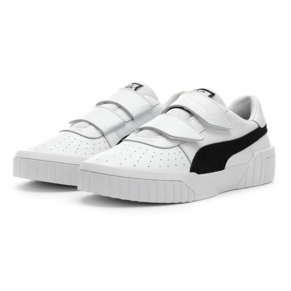 SG x Cali B+W Women's Sneakers, Puma White-Puma Black, large