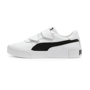 Thumbnail 1 of PUMA x SELENA GOMEZ Cali Women's Trainers, Puma White-Puma Black, medium