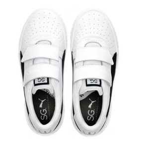 Thumbnail 7 of PUMA x SELENA GOMEZ Cali Women's Trainers, Puma White-Puma Black, medium