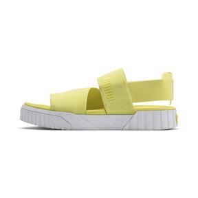 Thumbnail 1 of PUMA x SELENA GOMEZ Cali Women's Sandals, SOFT FLUO YELLOW, medium