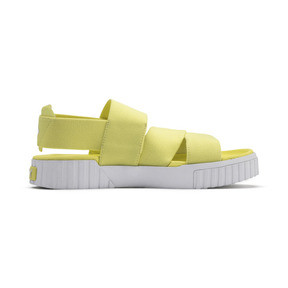 Thumbnail 6 of PUMA x SELENA GOMEZ Cali Women's Sandals, SOFT FLUO YELLOW, medium