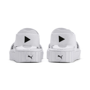 Thumbnail 4 of PUMA x SELENA GOMEZ Cali Women's Sandals, Puma White, medium