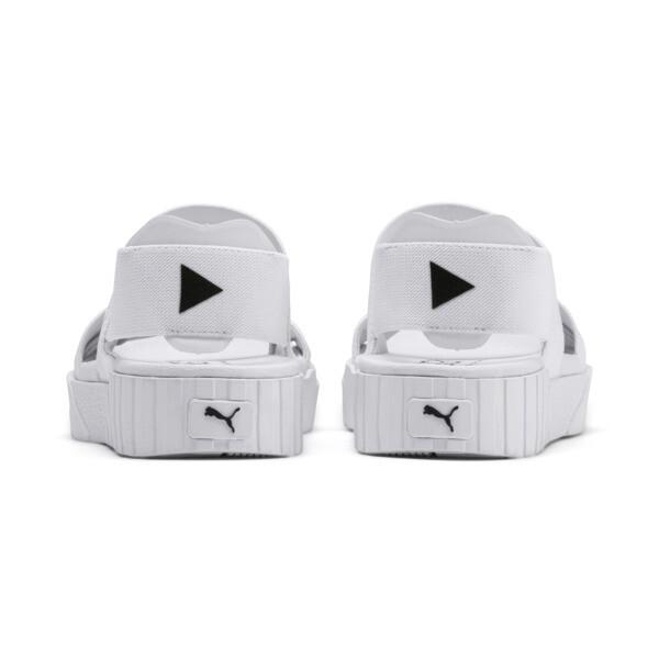 SG x Cali Sandal, Puma White, large