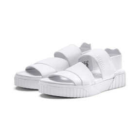 Thumbnail 3 of PUMA x SELENA GOMEZ Cali Women's Sandals, Puma White, medium