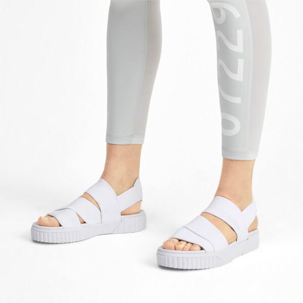 PUMA x SELENA GOMEZ Cali Women's Sandals, Puma White, large