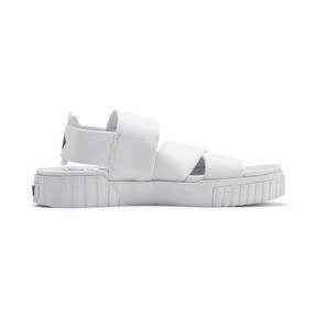 Thumbnail 6 of PUMA x SELENA GOMEZ Cali Women's Sandals, Puma White, medium