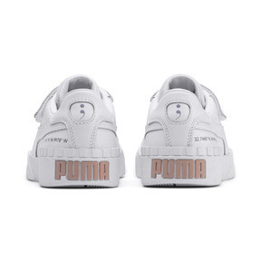 Thumbnail 4 of PUMA x SELENA GOMEZ Cali Women's Trainers, Puma White-Puma White, medium