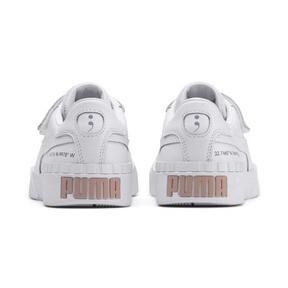 Thumbnail 4 of SG x Cali Women's Sneakers, Puma White-Puma White, medium