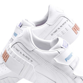 Thumbnail 8 of PUMA x SELENA GOMEZ Cali Women's Trainers, Puma White-Puma White, medium