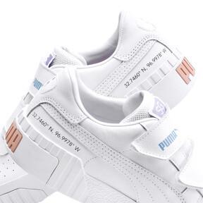 Thumbnail 8 of SG x Cali Women's Sneakers, Puma White-Puma White, medium