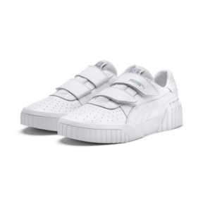 Thumbnail 3 of PUMA x SELENA GOMEZ Cali Women's Trainers, Puma White-Puma White, medium