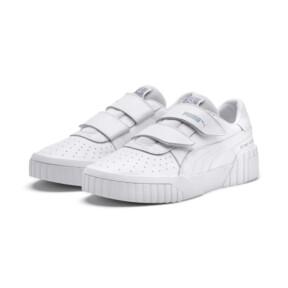 Thumbnail 3 of SG x Cali Women's Sneakers, Puma White-Puma White, medium
