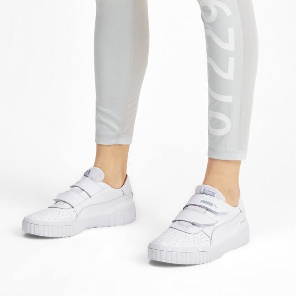 SG x Cali Women's Sneakers, Puma White-Puma White, large