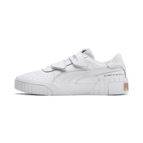 Thumbnail 1 of PUMA x SELENA GOMEZ Cali Women's Trainers, Puma White-Puma White, medium