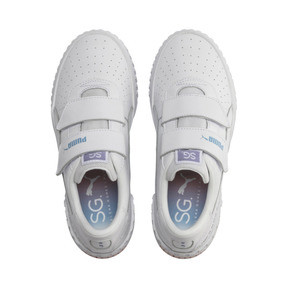 Thumbnail 7 of PUMA x SELENA GOMEZ Cali Women's Trainers, Puma White-Puma White, medium