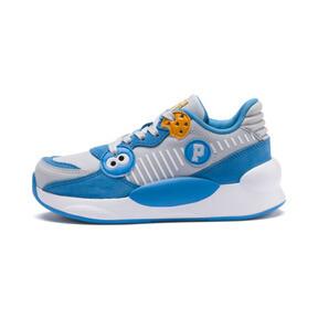 Thumbnail 1 of PUMA x SESAME STREET 50 RS 9.8 Little Kids' Shoes, Grey Dawn-Bleu Azur, medium