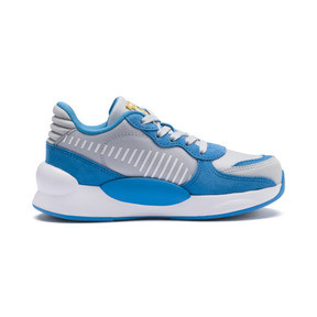 Thumbnail 5 of PUMA x SESAME STREET 50 RS 9.8 Little Kids' Shoes, Grey Dawn-Bleu Azur, medium