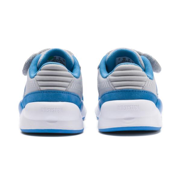 PUMA x SESAME STREET 50 RS 9.8 Toddler Shoes, Grey Dawn-Bleu Azur, large