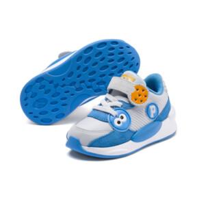 Thumbnail 2 of PUMA x SESAME STREET 50 RS 9.8 Toddler Shoes, Grey Dawn-Bleu Azur, medium