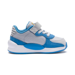 Thumbnail 5 of PUMA x SESAME STREET 50 RS 9.8 Toddler Shoes, Grey Dawn-Bleu Azur, medium