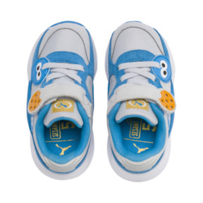 Thumbnail 6 of PUMA x SESAME STREET 50 RS 9.8 Toddler Shoes, Grey Dawn-Bleu Azur, medium
