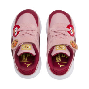 Thumbnail 6 of PUMA x SESAME STREET 50 RS 9.8 Toddler Shoes, Bridal Rose-Rhubarb, medium