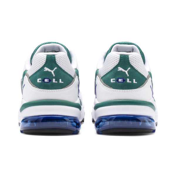 CELL Ultra OG Trainers, Puma White-Teal Green, large