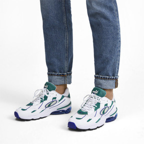Thumbnail 2 of CELL Ultra OG Trainers, Puma White-Teal Green, medium