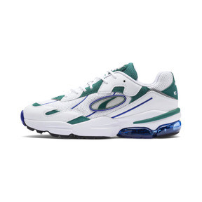 Thumbnail 1 of CELL Ultra OG Trainers, Puma White-Teal Green, medium