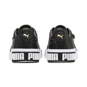 Thumbnail 4 van Cali Bold sportschoenen voor vrouwen, Puma Black-Metallic Gold, medium