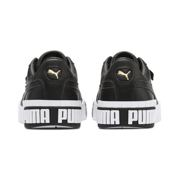 Cali Bold sportschoenen voor vrouwen, Puma Black-Metallic Gold, large