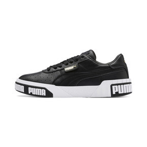 Thumbnail 1 of Cali Bold Women's Trainers, Puma Black-Metallic Gold, medium