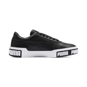 Thumbnail 6 of Cali Bold Women's Trainers, Puma Black-Metallic Gold, medium