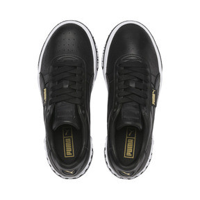 Thumbnail 7 of Cali Bold Women's Trainers, Puma Black-Metallic Gold, medium