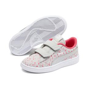 Thumbnail 2 of PUMA Smash v2 Confetti AC Shoes PS, Gray Violet-Bridal Rose, medium