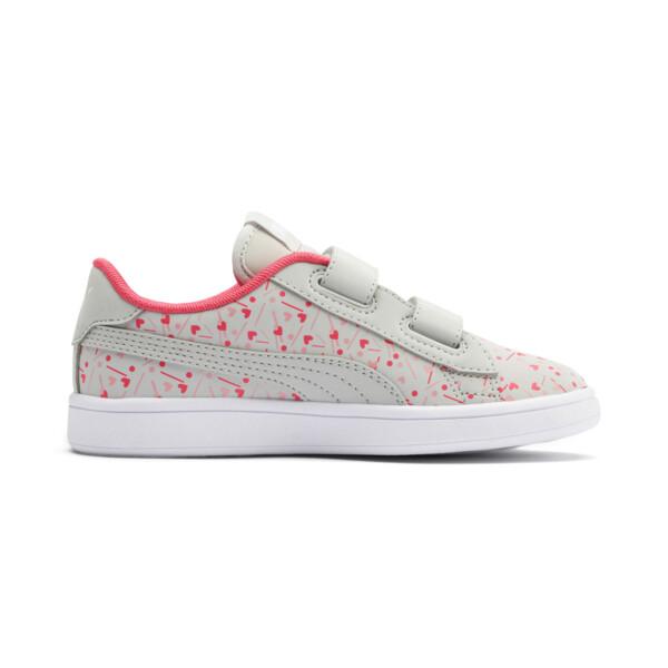 PUMA Smash v2 Confetti AC Shoes PS, Gray Violet-Bridal Rose, large