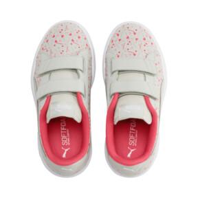 Thumbnail 6 of PUMA Smash v2 Confetti AC Shoes PS, Gray Violet-Bridal Rose, medium